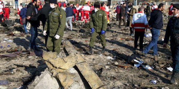 قادة غربيون: الطائرة الاوكرانية تضربات بصاروخ ايراني
