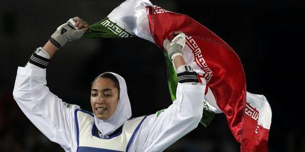 بطلة أولمبية إيرانية هربات من ايران ومشات لهولندا