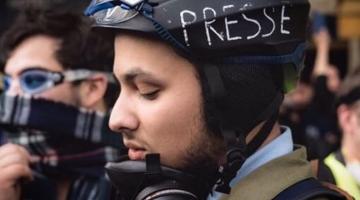 فرنسا طلقات طه بوحفص اللي ضرب الطر لماكرون و جمع عليه جوقة ديال المحتجين – فيديوهات