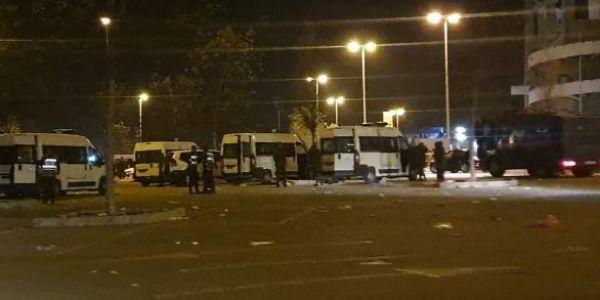 أعمال شغب فماتش الرجاء واتحاد طنجة.. اعتقال 13 شخص وإصابة عناصر من القوات العمومية وحجز جناوة