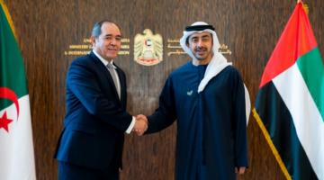 وزير خارجية الإمارات غادي للجزائر باش يوقف التدخل التركي فليبيا