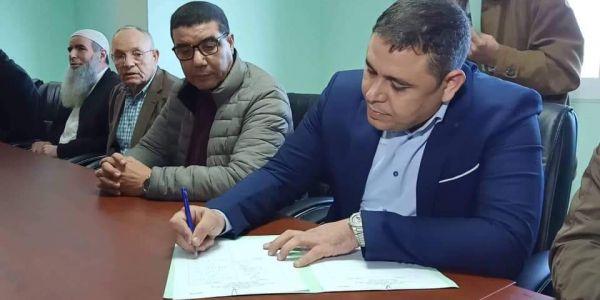 عاجل انتخاب مجعيط رئيسا لبلدية الناظور بدون أغلبية