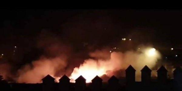 بالفيديو: انفجار بوطات الغاز ف فاس خلع الناس