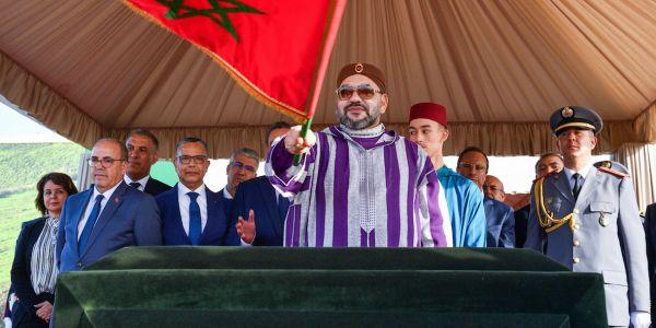 الاستراتيجية الجديدة للمياه وغابات المغرب. تحلية ماء لبحر للسقي وإعادة تغطية أكثر من 133 ألف هكتار من الغابات وخلق 27 ألف و500 منصب شغل جديد ومحمد السادس  طلق عملية غرس 100 هكتار من ارگان