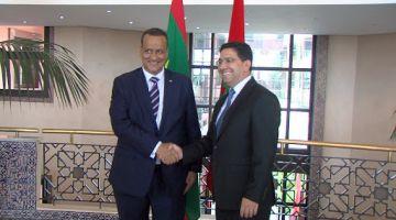 بعد زيارة وزير خارجية موريتانيا للجزائر. ناصر بوريطة مشا لانواكشوط من العيون