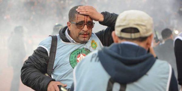 اللّيلة الكحلة فماتش الجيش والرجا.. توقيف 13 متورّط وإصابة مجموعة من البوليس و19 طونوبيل دالأمن دكدكات