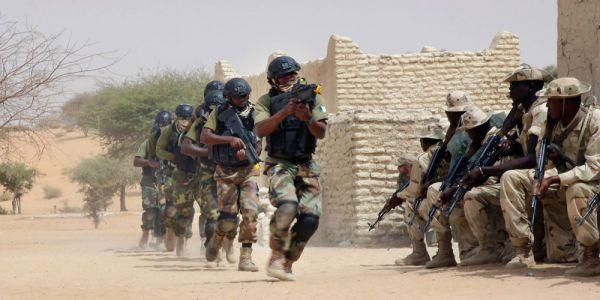 """القوات المسلحة حاضرة بقوة مع ميريكان فمناورات """"فلينتلوك"""" فموريتانيا والسنكَال"""