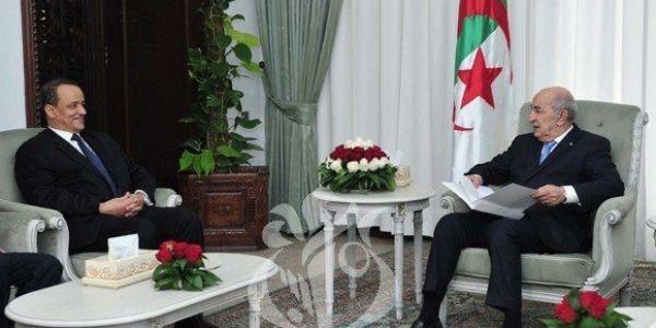 تبون استقبل وزير الخارجية الموريتاني لي جايب معاه رسالة من ولد الغزواني