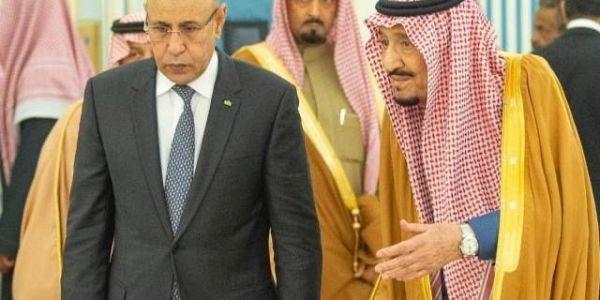 فوقت تواجد وفد مغربي رفيع.. تبون وولد الغزواني مشاو للسعودية معيطلهم الملك سلمان