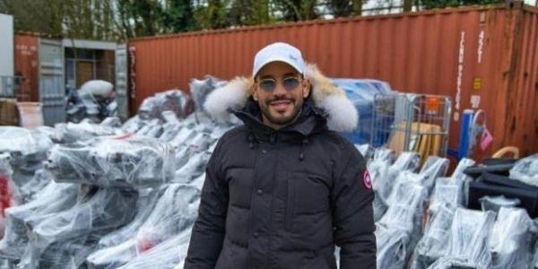 """جيست زوين.. أبو زعيتر تبرع بمعدات طبية غالية للسبيطارات لمواجهة """"كورونا"""""""