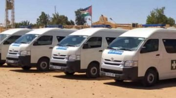 مفوضية شؤون اللاجئين عطات للبوليساريو أربع سيارات إسعاف