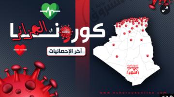 """الجزائر: 1423 حالة مؤكدة بـ""""كورونا"""" وعدد الوفيات وصل لـ173"""