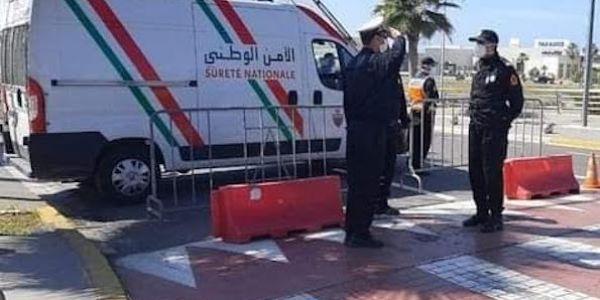 البوليس نازل ف كازا.. حضور كبير للأمن فالشارع مع بداية الحملة ضد الجريمة بإشراف من الدخيسي