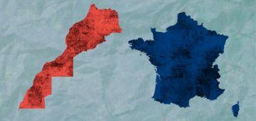 """""""كورونا"""" تسببات ف أزمة جديدة بين الرباط وباريس: الإعلام الرسمي كيهاجم فرنسا بسبب العنصرية"""