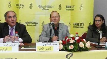 """أمنستي"""" كتطالب المغرب بالإفراج الفوري على جميع معتقلي الاحتجاجات والرأي والصحافيين وصحاب الراب"""