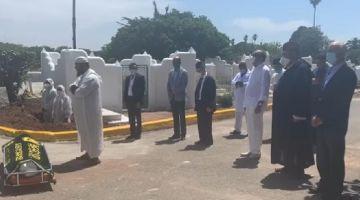 كورونا دوزات جنازة عبد الرحمان اليوسفي مزروبة.. وهكذا ودعوه الاتحاديين عن بعد لالتزامهم بالاحترام التام لتدابير الطوارئ الصحية