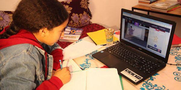 """وزارة التربية الوطنية حبسات """"التعليم عن بعد"""" وغادي تقدم الحصيلة ديال هاد العملية"""
