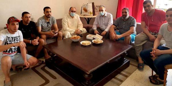 """331 مغربي حاصل فتونس بسبب جايحة """"كورونا"""" والمصالح الدبلوماسية المغربية مكلفة بإقامة 125 واحد -تصاور"""