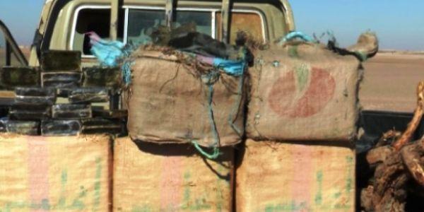 الجيش حجز 125 كيلو ديال الحشيش كانت غادية لتندوف وإيقاف 5 مهربين