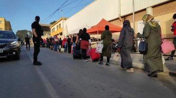 جمعية صبليونية حطات شكاية ضد الخارجية الاسبانية بتهمة التعامل العنصري مع العالقين المغاربة
