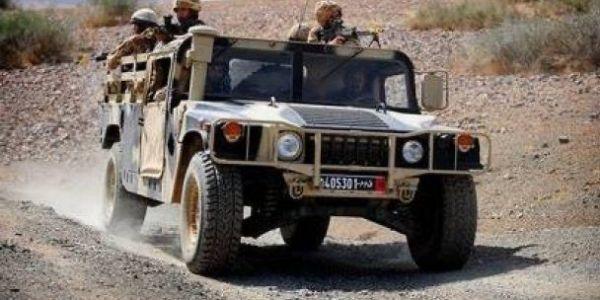 الجيش حجز كمية ديال لحشيش بمنطقة تشلا جنوب الداخلة