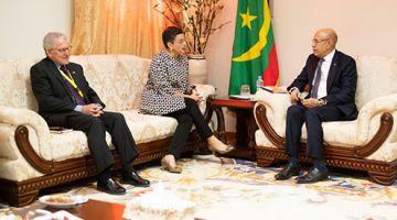 وزيرة خارجية الصبليون وموريتانيا بحثوا قضية الصحرا فاتصال هاتفي