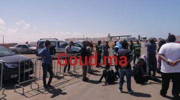 السلطات فالعيون سالات مع أزمة العالقين بالواد الواعر