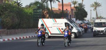 السطو على المركز المغربي للهلال الأحمر حرّك بوليس مراكش