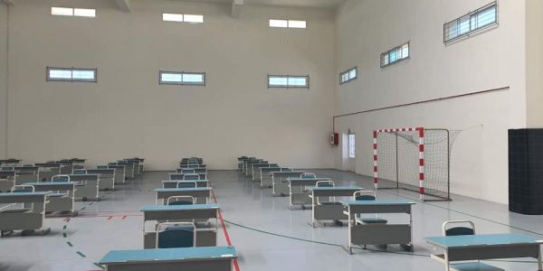 امتحانات البَاكْ.. عدد مراكز الامتحانات تجاوزات 2155 ومن بينها 100 قاعة مغطاة و145 مدرج