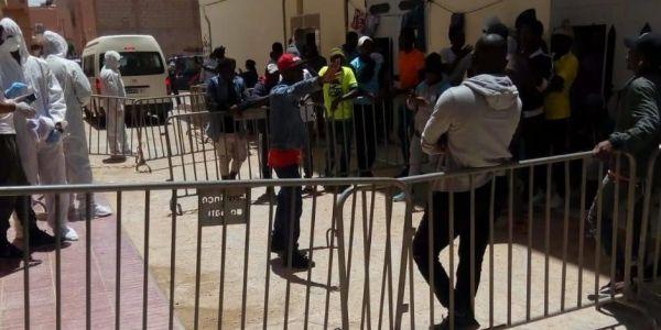 25 حالة إصابة جديدة بكورونا فجهة العيون وفيهم مهاجرين