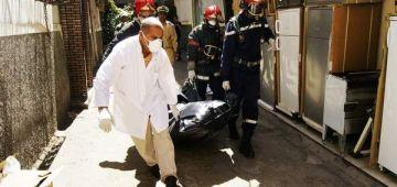 مهاجر من دول جنوب الصحرا لقاوه جثة هامدة فمكناس والنيابة العامة أمرت بتشريح الجثة