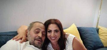 زواج الفنان جورج وسوف والشطاحة غادة بشور منوض حالة بين الجمهور