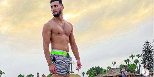 استراحة محارب.. زهير بهاوي مستمتع بالصيف فالحسيمة – تصاور