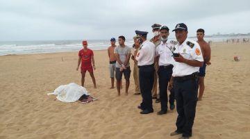 شاطئ عين الدياب فكازا لاح جثة أربعيني غرق