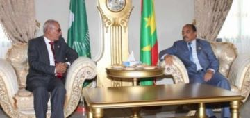 لجنة برلمانية كتحقق فمنح ولد عبد العزيز لجزيرة موريتانية لأمير قطر حمد آل ثاني