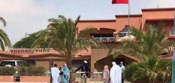 هاشنو قالت سفارة المغرب فموريتانيا على ود الحاصلين فنواكشوط