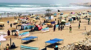 نايضا على المجلس الإقليمي لتيزنيت بسبب محاولات تفويت عقارات شاطئ أكلو لشركة محظوظة