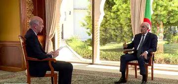 تبون: ما عندناش مشكل مع المغرب ولكن كاين لي فالمغرب عندو معانا مشاكل.. وما نكَولش واش درنا قاعدة عسكرية فالحدود