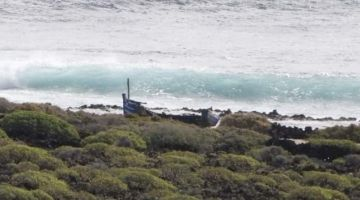 وصول 30 حراگ انطالقوا من الصحرا لجزيرة لانزاروتي