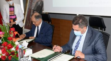 الكراوي وأمزازي دارو اتفاقية شراكة لتحسين وتطوير ثقافة المنافسة النزيهة