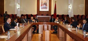 مشروع برنامج الدعم الاجتماعي وإحداث الوكالة الوطنية للسجلات أمام لجنة الداخلية