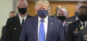 ترامب قطع ندوتو الصحافية والخدمة السرية خرجوه من القاعة من بعد إطلاق النار خارج البيت الأبيض – فيديو