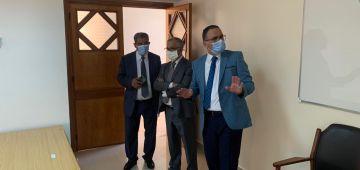 """لتعزيز أسرة القضاء: امتحانات الملحقين القضائيين """"فوج 43"""" حركات اليوم فارس للمعهد العالي للقضاء -تصاور"""