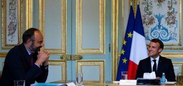 قصر الإليزي: استقالة الحكومة الفرنسية