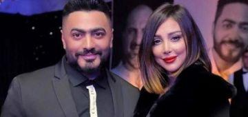 واخا تصالحو.. تامر حسني مشى لمهرجان مصري بلا بسمة بوسيل