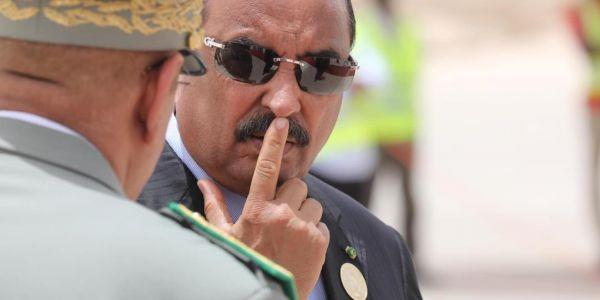 شرطة الجرائم الإقتصادية عاود عيطات على الرئيس الموريتاني السابق ولد عبد العزيز