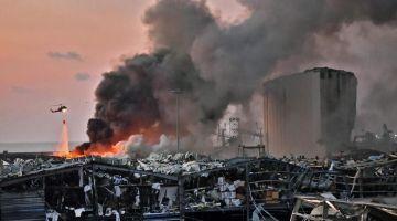 انفجار بيروت.. الملك محمد السادس صيفط برقية تعزية ومواساة للرئيس اللبناني