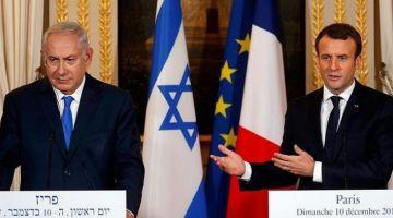 الرئيس الفرنسي ماكرون: اتفاق الإمارات وإسرائيل قرار شجاع وبغيناه يساهم فسلامدائم وهضرت مع ترامب وبن زايد ونتنياهو