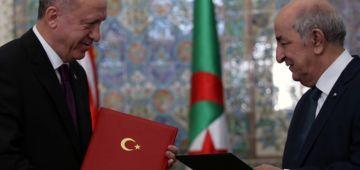 تركيا سلمات الجزائر عسكري هارب عليها ومسرب وثائق سرية