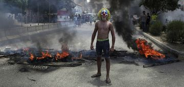 """تظاهرات واحتجاجات فبيروت بعنوان """"يوم الحساب"""" – تصاور وفيديو"""